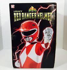 mighty morphin power rangers helmet ebay