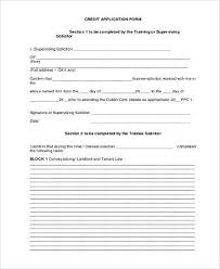 generic credit application template sample application forms in pdf 32 free documents in word pdf