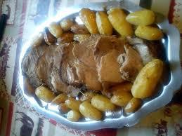 comment cuisiner les pommes de terre grenaille recette de rôti de porc au thym avec petites pommes de terre