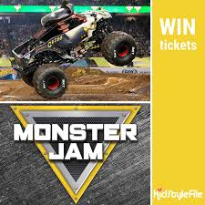 kidstylefile weekly giveaway monster jam tickets melbourne