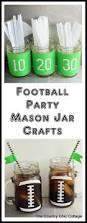 football party mason jar crafts mason jar crafts craft and