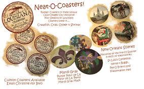 Unique Drink Coasters Laissez Les Bon Temps Rouler