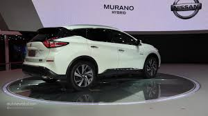 nissan hybrid 2016 world premiere for 2016 nissan murano hybrid at auto shanghai 2015