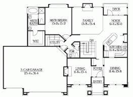 builder house plans classic rambler floor plans by builderhouseplans comqt