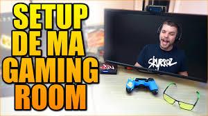 ma gaming room vidéo setup youtube