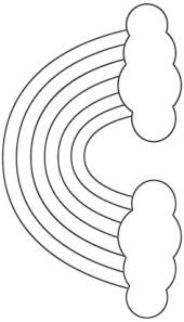 footprint pattern use the printable outline for crafts creating