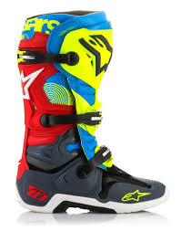 motocross boots cheap 2018 alpinestar tech 10 union limited edition motocross boots