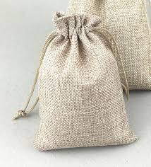 drawstring gift bags 100pcs jute sack vintage style handmade jute sacks