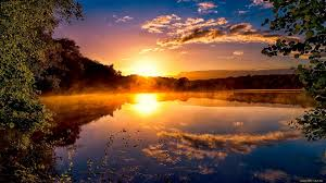 nature lake reflections wallpapers sunrise sunset reflection sunset lake sunrise nature background