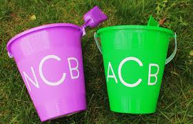 easter pails maryland pink and green preppy easter pails