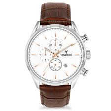 watches chronograph s chronograph silver gold vincero collective