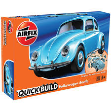volkswagen beetle airfix quick build volkswagen beetle model kit hobbycraft