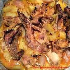 cuisiner lapin entier lapin paysan aux pommes de terre recette companion moulinex