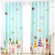Green Nursery Curtains Lovely Fish Pattern Nursery Curtains In Light Green Color