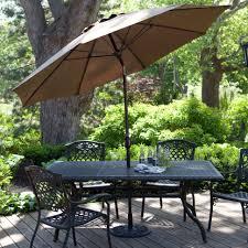 11 Market Umbrella Costco by Outdoor 9 Foot Patio Umbrella Sunbrella Umbrellas 9 Ft Black