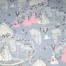 grey wrapping paper vintage grey pink and gold wedding wrapping paper or gift wrap