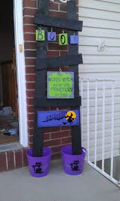 Halloween Wooden Decorations 23 Best Ladder Images On Pinterest Ladder Decor Holiday Crafts