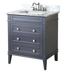 contemporary 30 single bathroom vanity set with mirror by bosconi
