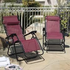 Zero Gravity Patio Chairs by Buy Zero Gravity Chairs Case Of 2 Black Lounge Patio Chairs