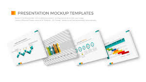 perspective powerpoint presentation mock up templates premium