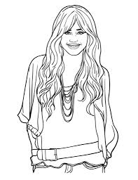 hannah montana coloring pages alric coloring pages