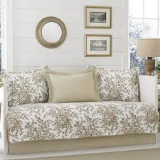 Daybed Cover Sets Plymouth Black And White Toile 10 Piece Cotton Daybed Set Free
