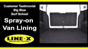 linex jeep blue big blue surf line x van lining review youtube
