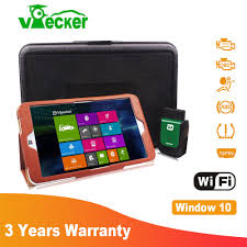 win tablet vpecker special function obd2 all system code scanner