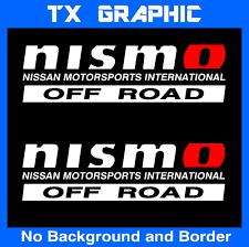nissan frontier vinyl graphics nismo off road 4x4 vinyl sticker decal frontier titan 1 set of 2