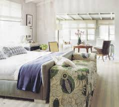 Green Master Bedroom by Christopher Farr Carnival Pillows