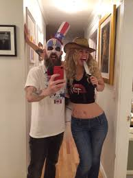 captain spaulding costume husband and i dressed up as captain spaulding and baby it was