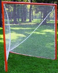 diy lacrosse goal amazon com trigon sports pair of official size ncaa lacrosse