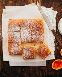 cuisiner portugais recette de gâteau portugais à l orange fraîchement pressé