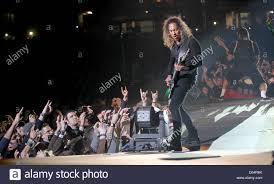 Kirk Hammett Kirk Hammett Guitarist Of The Us Heavy Metal Band Metallica Stock
