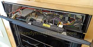 how to replace a built in oven fan