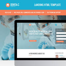 medical responsive landing page template 58055