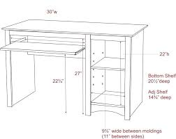 average desk height standard computer desk height desk furniture design standard computer desk height awesome small