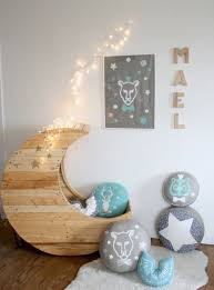 cosmic crescent shaped cribs cute baby crib
