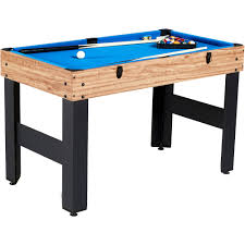 Dining Pool Table Combo by Md Sports 48 Inch 3 In 1 Combo Game Table Billiards Slide Hockey
