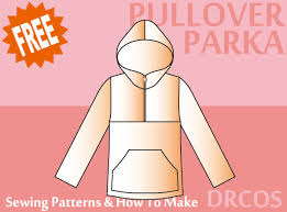 pullover hoodie sewing patterns drcos patterns u0026 how to make