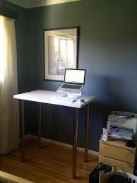 Diy Stand Up Desk Ikea by Diy Adjustable Standing Desk Reddit Decorative Desk Decoration