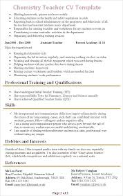 cv templates for teaching assistants healthcare assistant cv teaching assistant cv uk teaching best