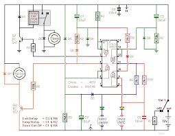 two zone alarm circuit diagram