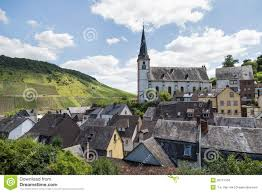 german village in valley stock photography image 19785452