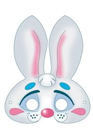 rabbit mask halloween image detail for free printable carnival masks for kids