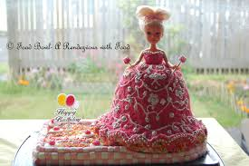 home made doll princess cake cakes bakes and beyond by shradha