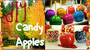 diy candy apples easy youtube