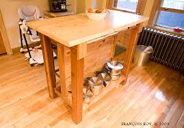 ilot de cuisine en bois ilot bois cuisine en image