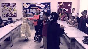 lam halloween party 4a5 vinschool halloween party youtube