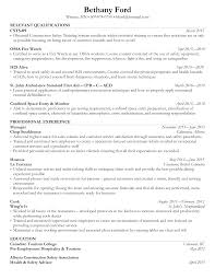 How To Write A Resume For Hospitality Jobs by 5 Kick A Rezi Ats Optimized Resume Examples U2013 Rezi Blog